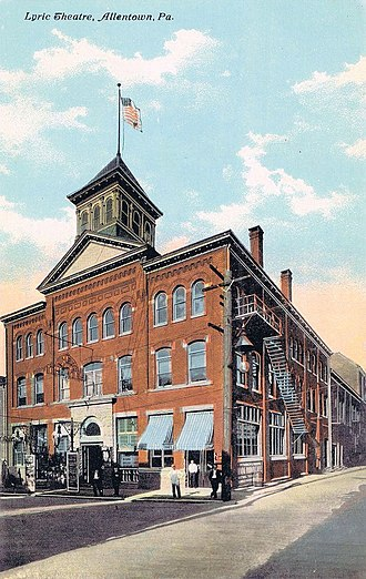 Miller Symphony Hall - The Lyric Theater in the 1910s
