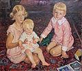1910 Linde-Walter Drei Kinder auf Teppich anagoria.JPG