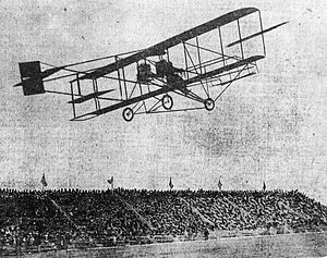 1910 in aviation - A Curtiss machine in 1910