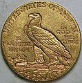 1911-D Indian Head quarter eagle reverse.jpg