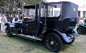 Barker (coachbuilder) - The same 1913 car, different angle