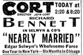 1915 Cort theatre BostonGlobe Feb27.png