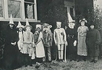 The Wizard of Oz (1902 musical) - Cast of the production at East Texas State Normal College in 1921