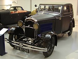 "1929 Rover Light Six ""Blue Train"""