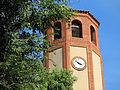 193 Sant Pere de Gavà, campanar, cara oest.JPG