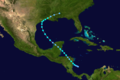 1940 Atlantic tropical storm 6 track.png