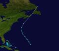 1943 Atlantic tropical storm 8 track.png