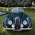 1951 Jaguar XK Sports at Capel Manor, Enfield, London, England 2.jpg