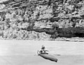 1953 Sierra Club Green River Canyon Trip. Sierra Club member C. Shepard Lee running Dinosaur National Monument's Yampa River in (a59565e1c9df4f86898bc24704f7ac05).jpg