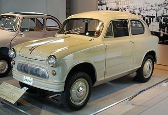 Suzuki Suzulight - 1957 Suzulight SL Light Van