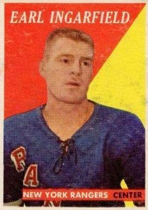 Earl Ingarfield Sr. - Image: 1958 Topps Earl Ingarfield