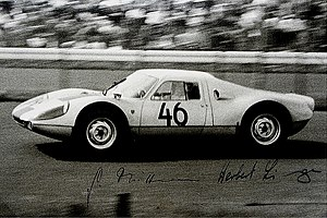 1964 World Sportscar Championship - Porsche won the GT Division II title with the 904 GTS