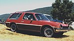 1977 AMC Pacer wagon red woodie Nashville.jpg