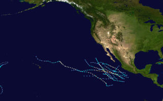 1980 Pacific hurricane season hurricane season in the Pacific Ocean