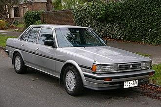 Toyota Cressida - Image: 1988 Toyota Cressida (MX73) GLX i sedan (2015 07 09) 01
