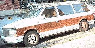 Chrysler Town & Country - Image: 1990 Chrysler Town & Country