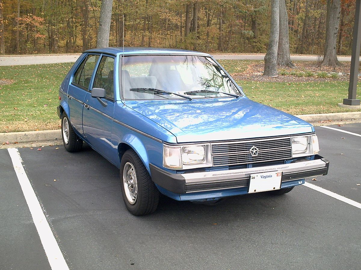 Dodge Omni Wikipedia 1985 Ram 50 Engine Diagram