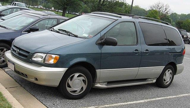 Toyota Sienna Car Seat Latch