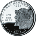 Quarter of New Hampshire