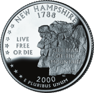 Live free or die, the motto of New Hampshire o...