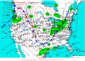 2003-01-26 Surface Weather Map NOAA.png