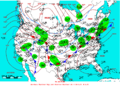 2005-01-04 Surface Weather Map NOAA.png