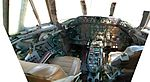 2006-06-03 Vickers Viscount unrestored cockpit.jpg