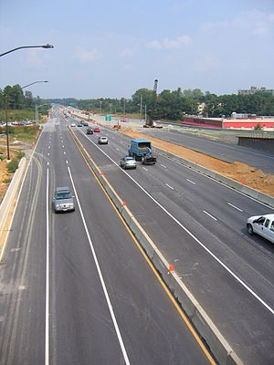 US 29 (Columbia Pike) at Briggs Chaney Road, F...