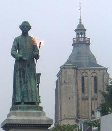statue de jan pieter minckelers 1748 1824 et sa