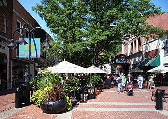 Charlottesville, Virginia - Downtown Mall
