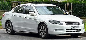 Honda Accord (North America eighth generation) - Image: 2008 2011 Honda Accord V Ti L sedan (2011 04 02)