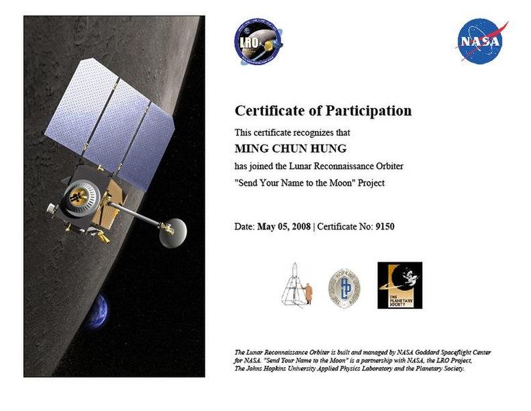 File:2008 Lunar Reconnaissance Orbiter -1.JPG