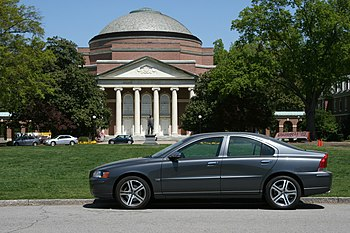 English: A Volvo S60 parked at Duke University...