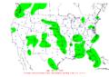 2009-09-03 24-hr Precipitation Map NOAA.png