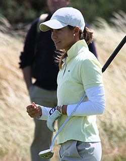2009 Women's British Open - Azahara Muñoz (2).jpg
