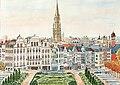 2010-04-11 - 'Bruxelles vu du Mont des Arts' - Marie-Claire Lefébure.JPG