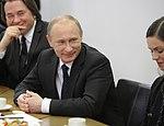 2011-02-03 Владимир Путин с коллективом Первого канала (11).jpeg