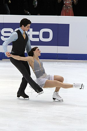 Short dance - Tessa Virtue and Scott Moir perform their short dance at the 2011 Four Continents Championships