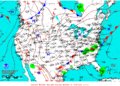 2012-07-11 Surface Weather Map NOAA.png