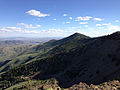 2013-07-12 17 36 42 View south-southeast from the south end of the unnamed summit near Coon Creek Summit in the Copper Mountains of Nevada.jpg