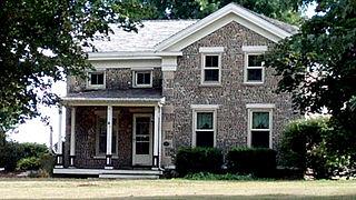 Samuel S. Jones Cobblestone House United States historic place