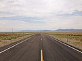 2014-07-17 11 06 37 View west along U.S. Route 6 about 58.8 miles east of the Esmeralda County Line in Nye County, Nevada.JPG