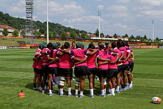South Africa women's national rugby union team - South Africa at the 2014 Women's Rugby World Cup.