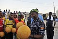 2015 03 04 AMISOM Police football players play with Dharkenley Team-10 (16528725138).jpg