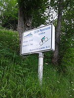 2015 Mountain pass cycling milestone - Col de Peyresourde Armenteule.jpg