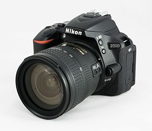 Nikon D5500 - Image: 2017 Nikon D5500