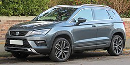 2017 SEAT Ateca Xcellence 1.4 Front