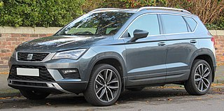 SEAT Ateca A compact crossover vehicle (CUV) manufactured by SEAT