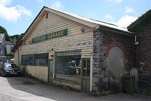 Ashburton railway station - The station used as a garage