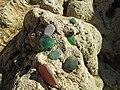 2018-01-17 Eroded glass fragments on Praia da Oura.JPG